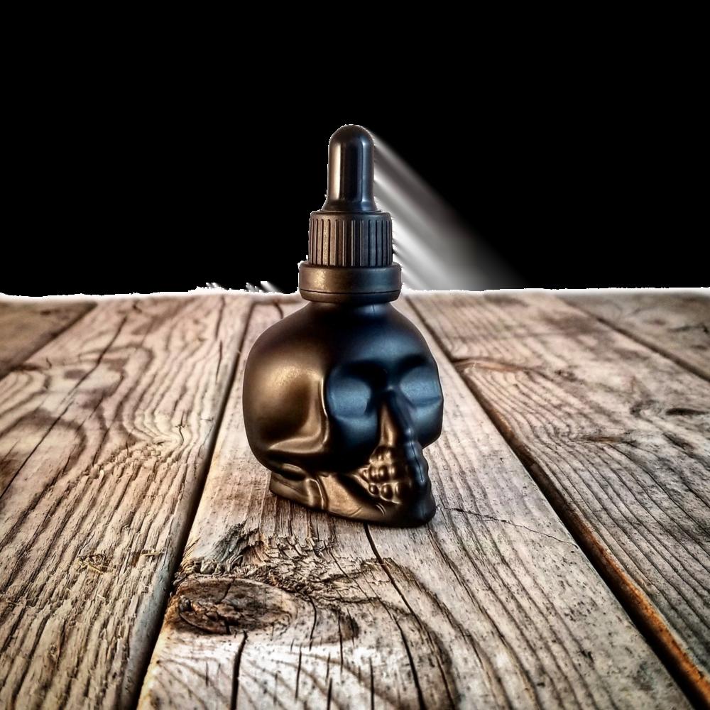 Signature Beard Oil Black Skull