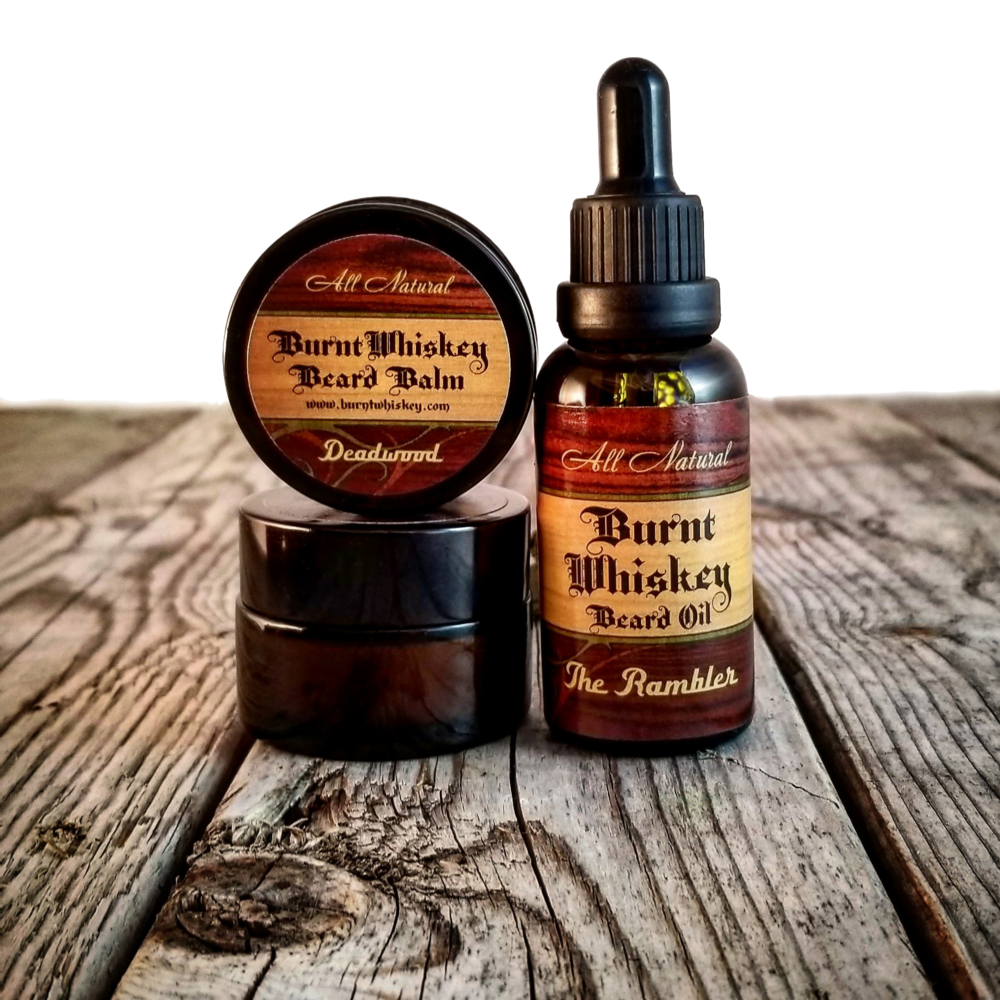 Beard Oil Beard Balm Moustache Wax Pack