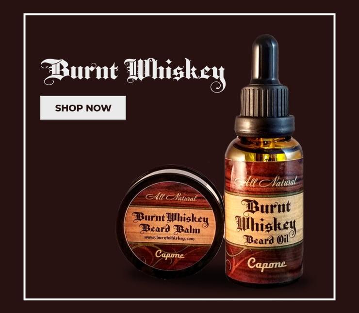 Banner Burnt Whiskey Beard Company
