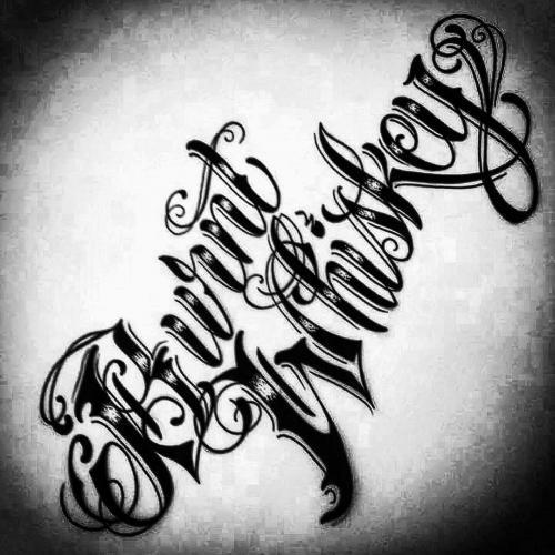 BW Logo - Script