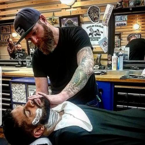 Shot of Barber